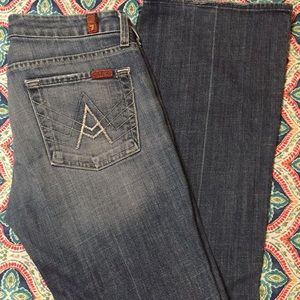 7 for all Mankind long leg boot cut VGUC  size 28